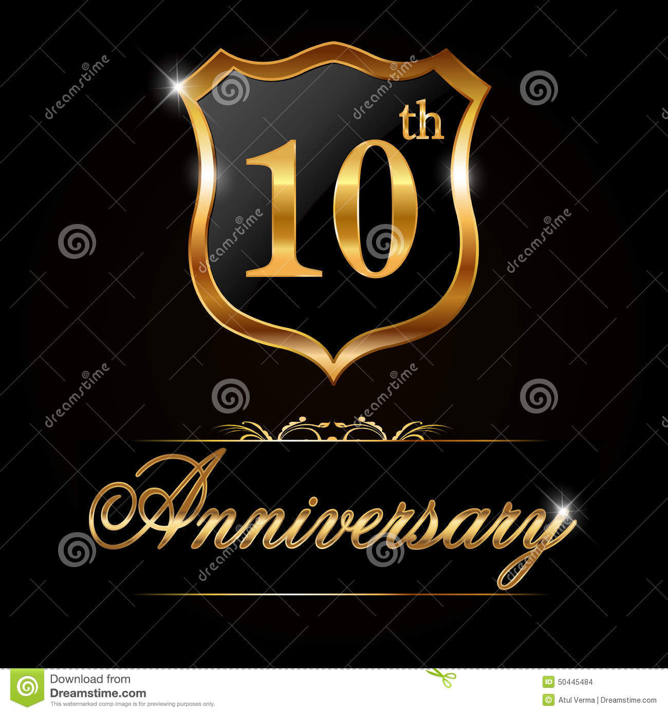 10 Year Anniversary Golden Label 10th Anniversary