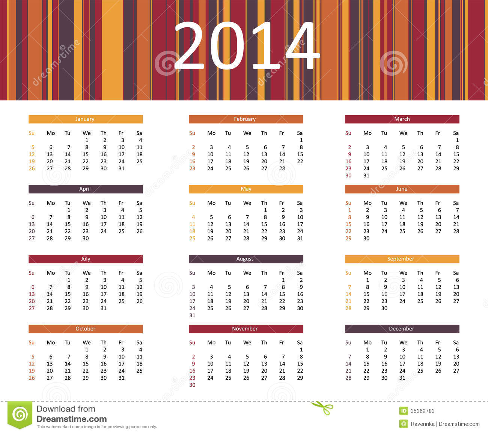Calendar Red : Year calendar search results