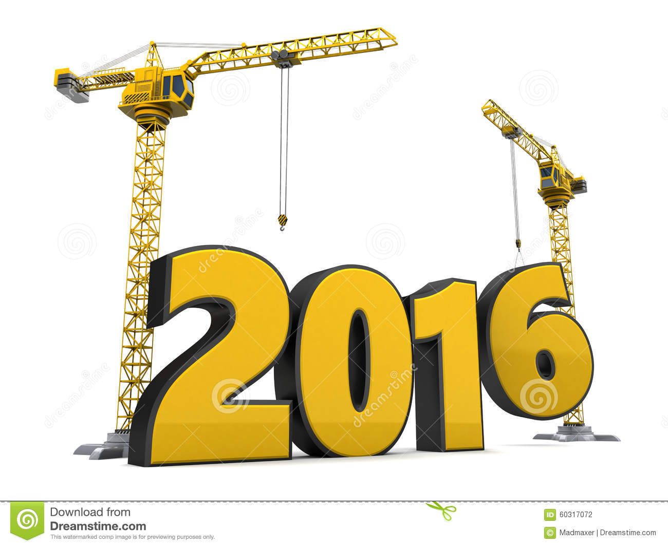 2016 year construction stock illustration illustration of thousand