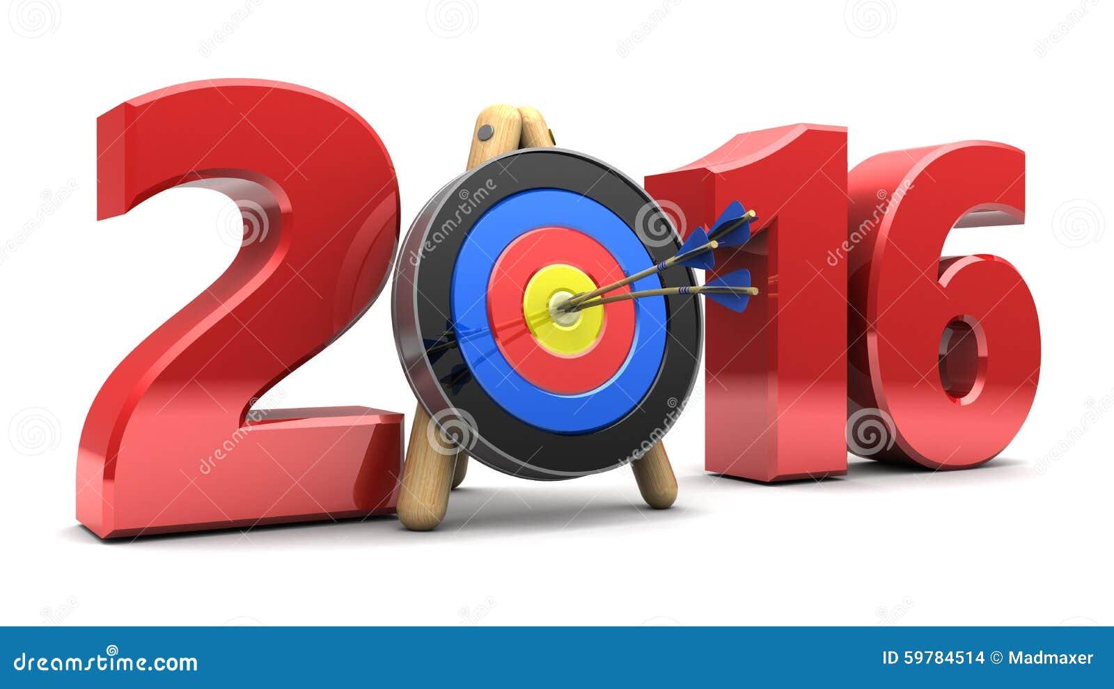 2016 Year Stock Illustration - Image: 59784514