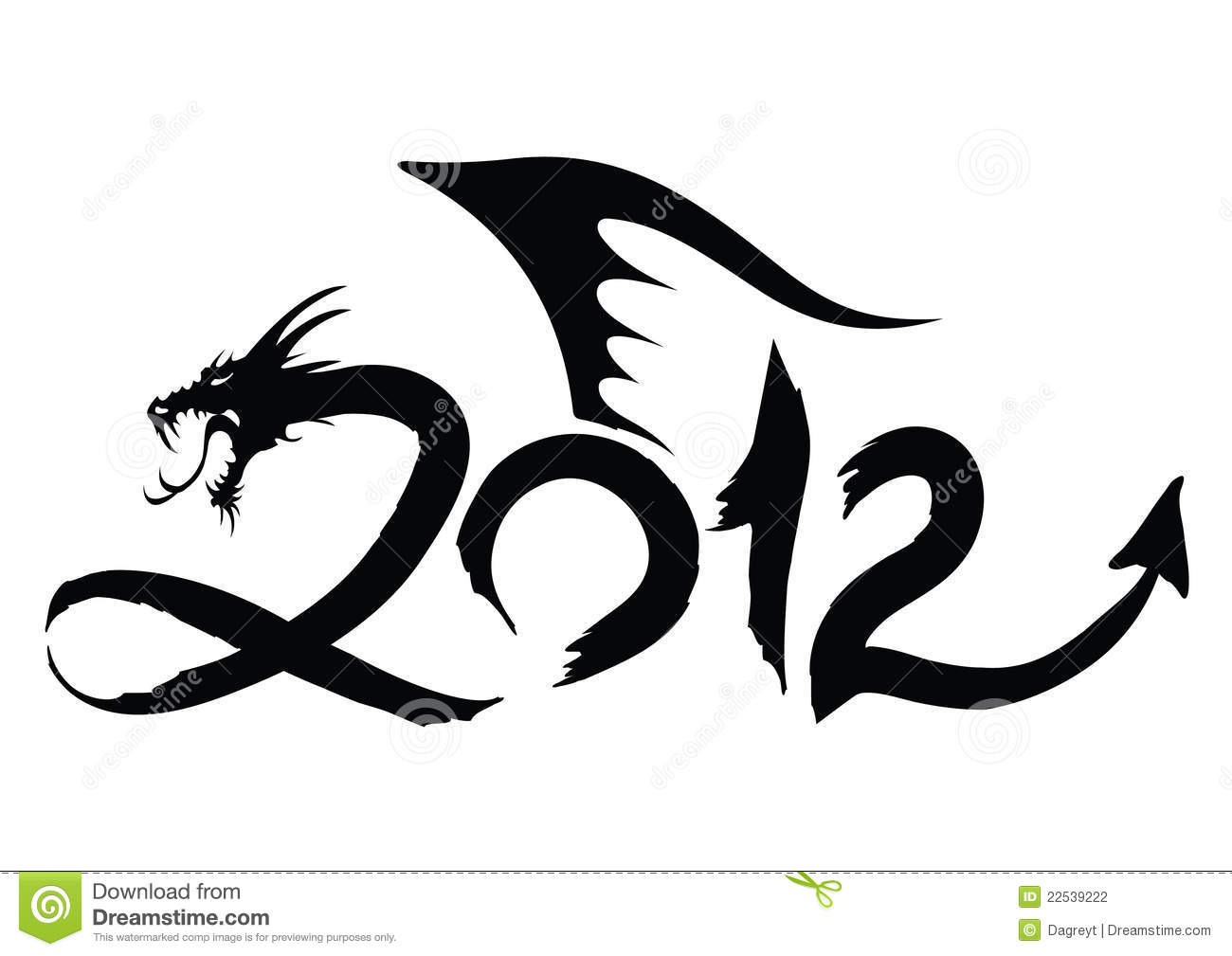 Year of the dragon 2012 stock illustration illustration of year year of the dragon 2012 biocorpaavc Image collections