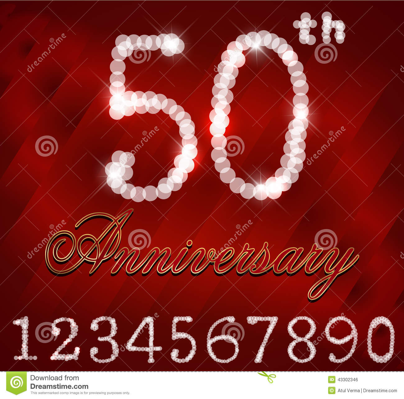 Created 50 Years Celebration 50th Happy Birthday Retro Card