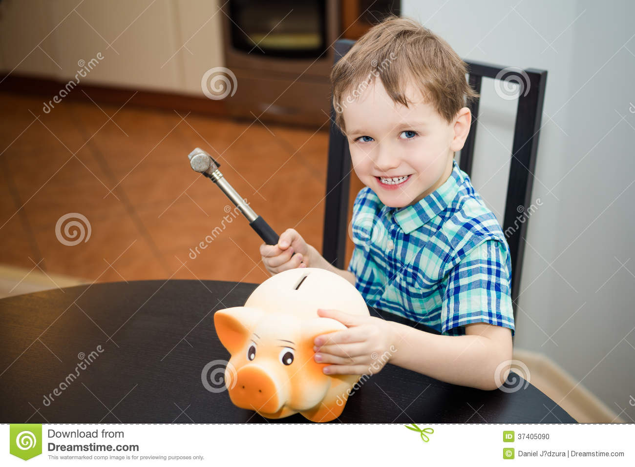 The boy who broke the bank