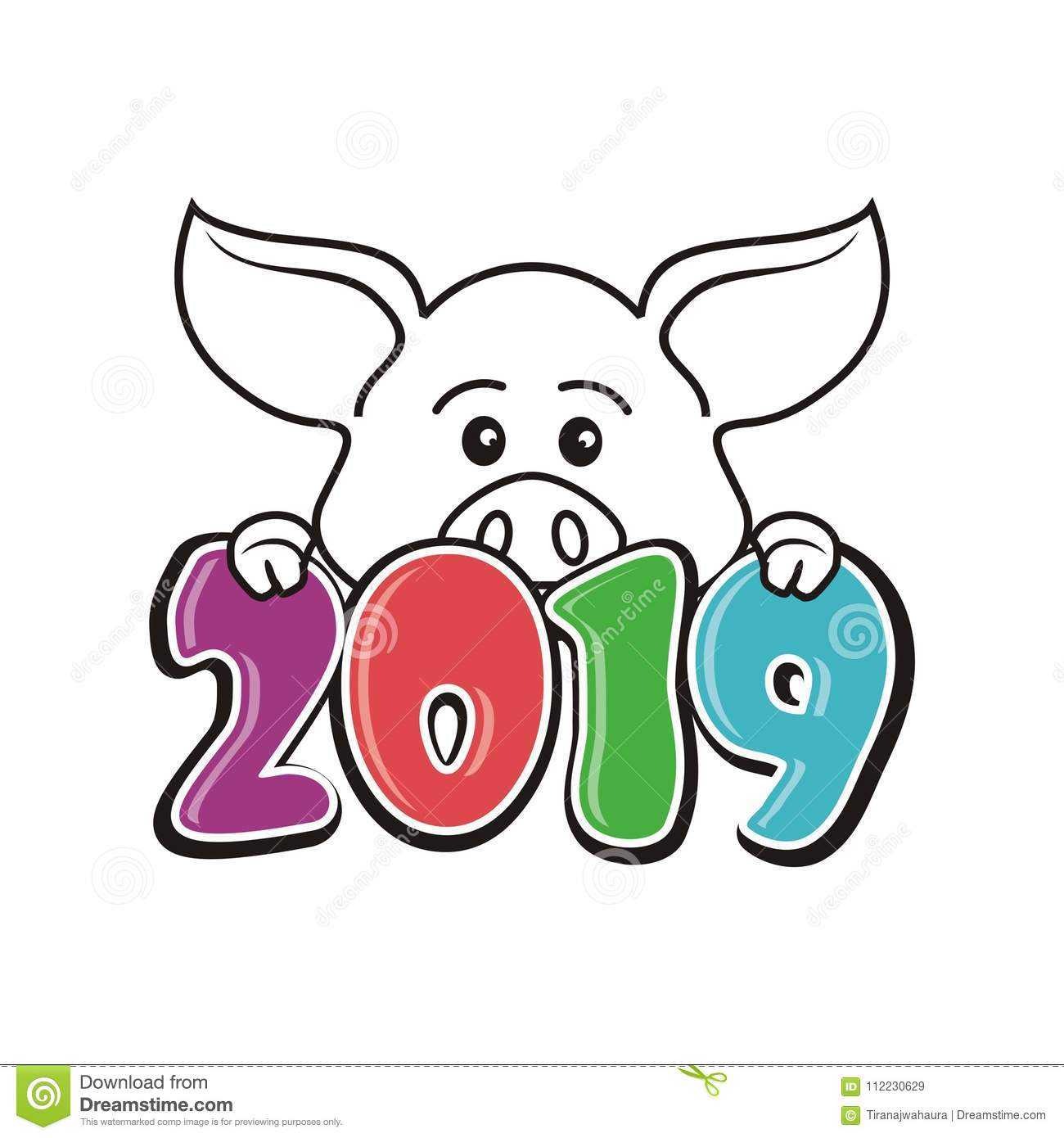 year pig 2019 chinese new year stock illustrations 12 187 year pig 2019 chinese new year stock. Black Bedroom Furniture Sets. Home Design Ideas