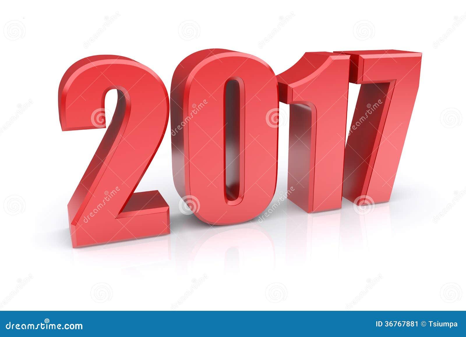 2017 Year Stock Image - Image: 36767881