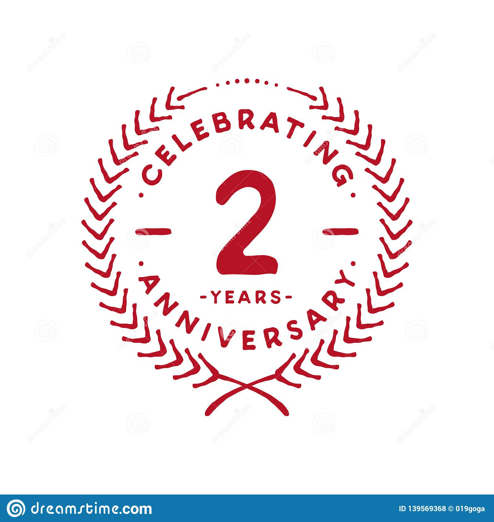 Two Year Anniversary Letter from thumbs.dreamstime.com