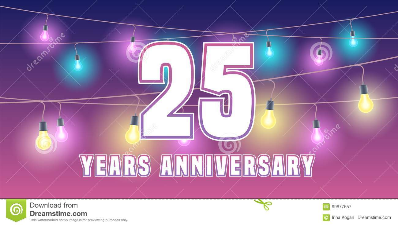 Years anniversary card banner design stock vector hd royalty