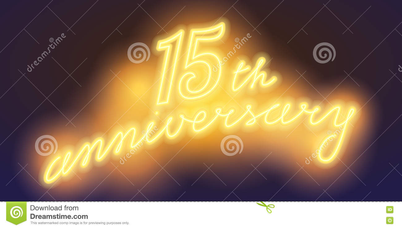Years anniversary celebration logo flat stock vector hd