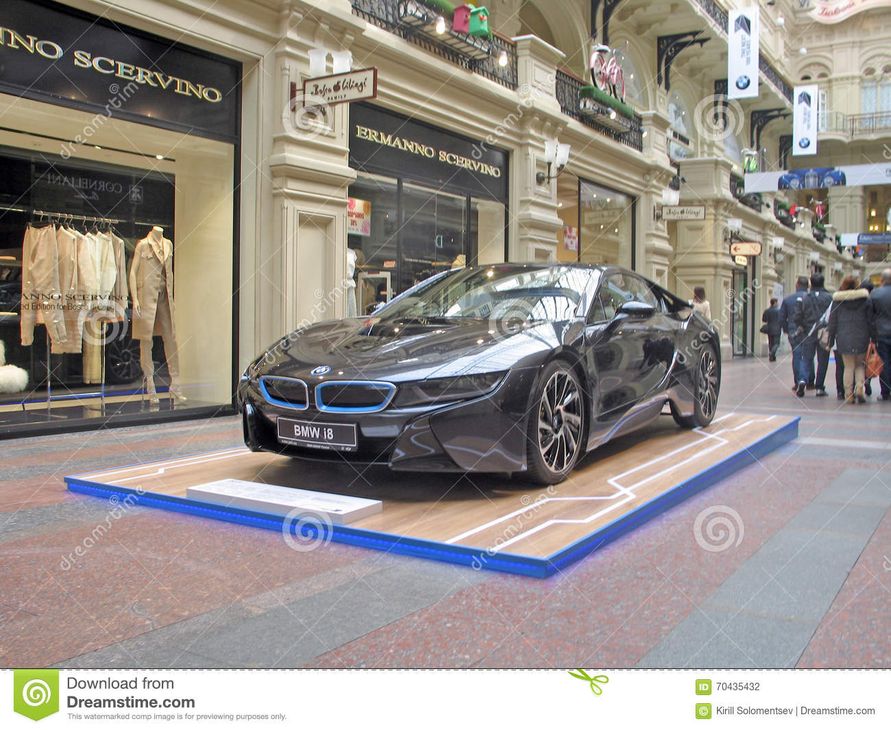 100 Years Of The Bmw The State Department Store Moscow Bmw I8