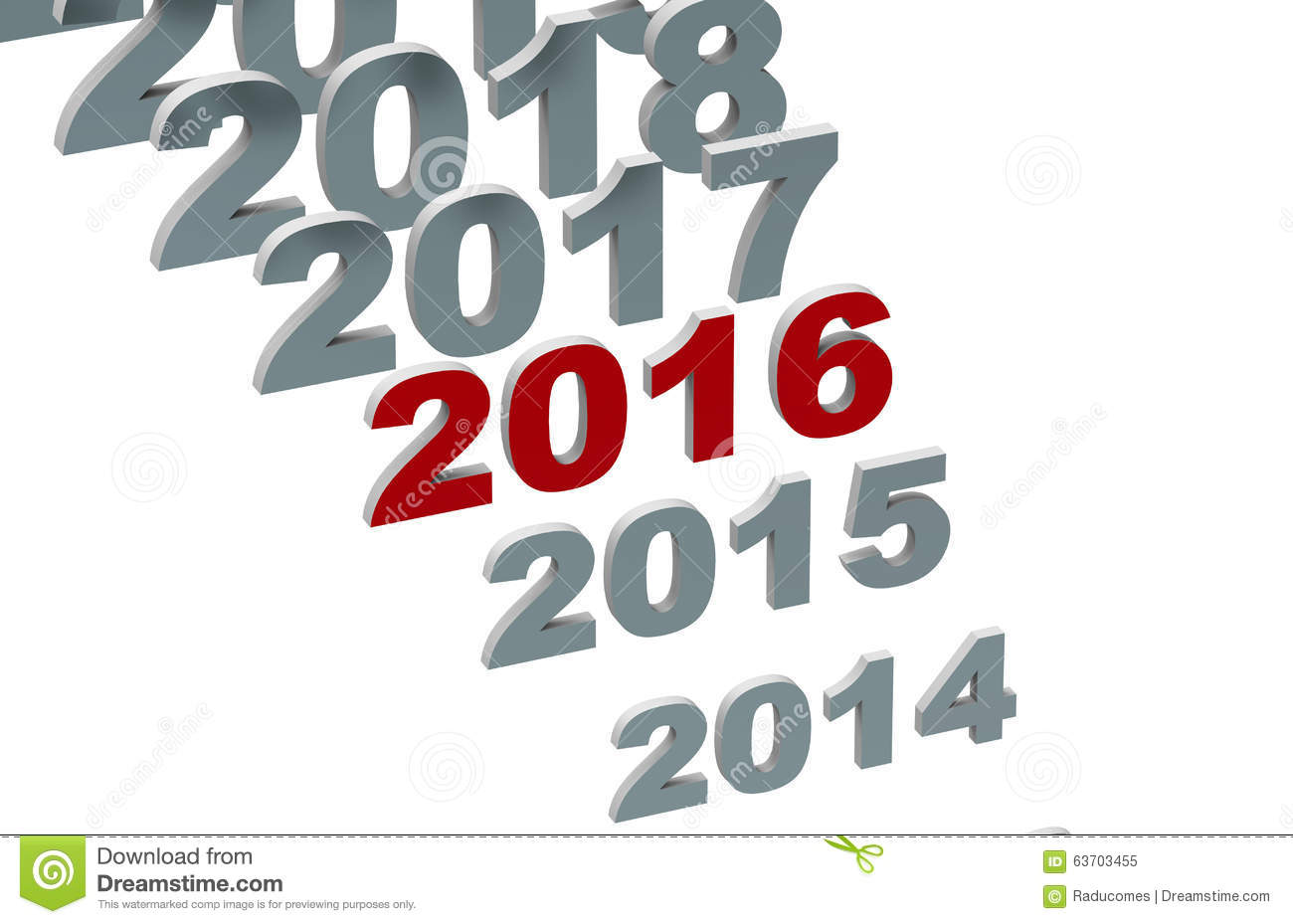 Year Calendar Clipart : Years timeline concept stock illustration image