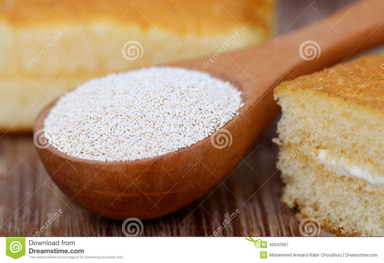 Yeast with bread