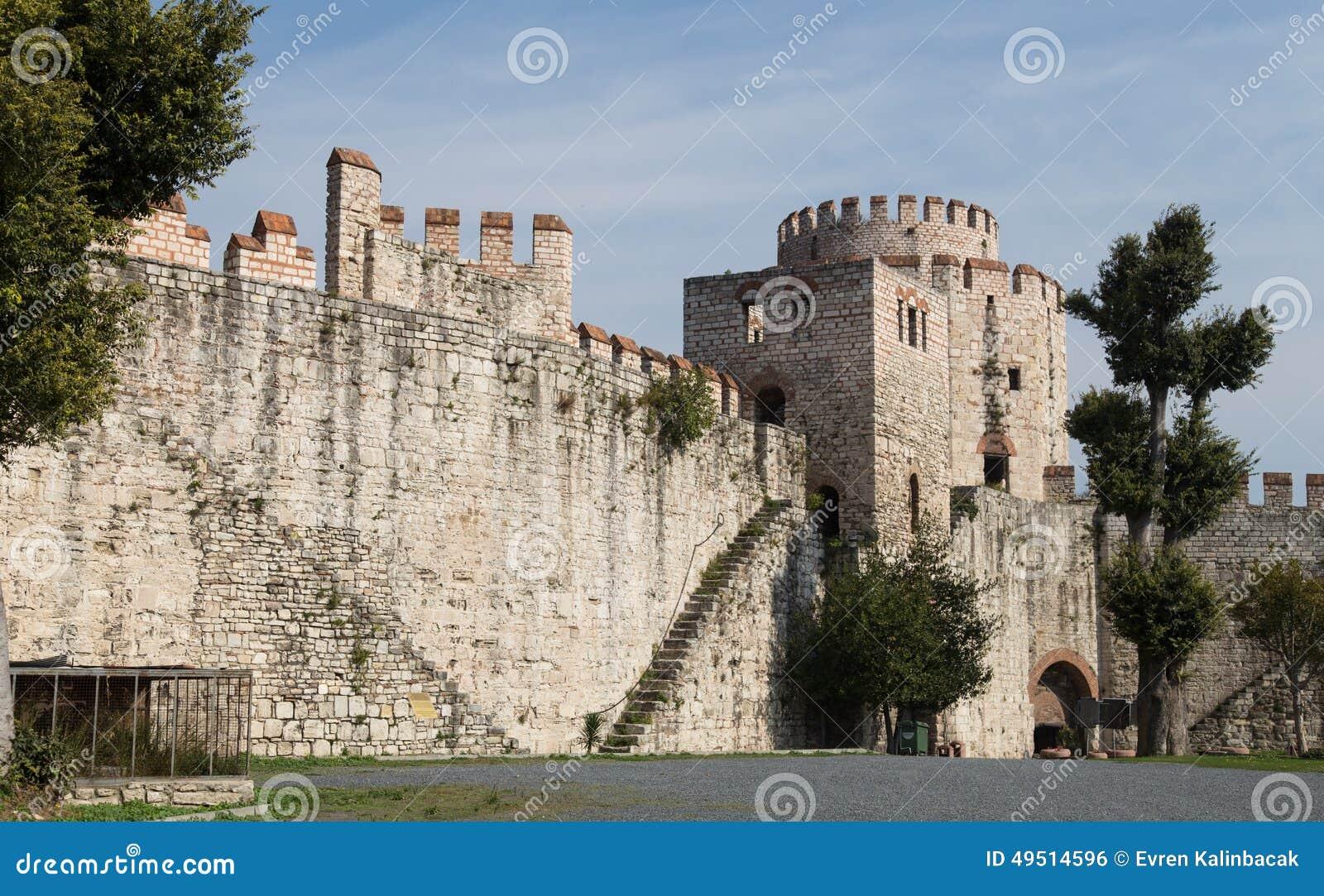 Yedikule Fortress Stock Photo - Image: 49514596