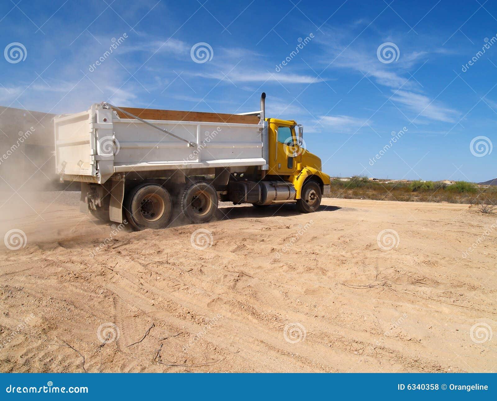 Yelllow Dump Truck