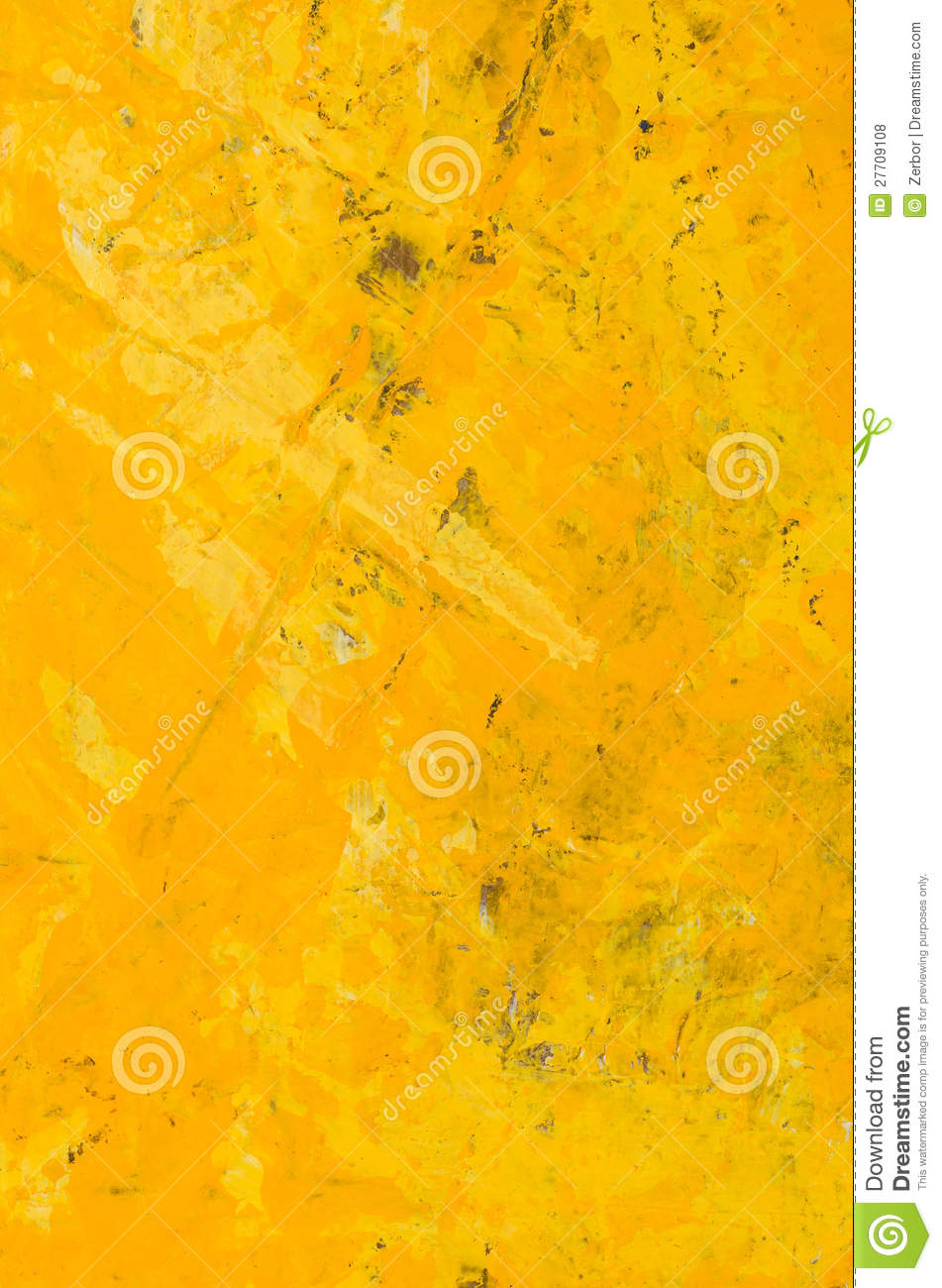 Yellow Abstract Acrylic Painting Royalty Free Stock Photos ...Yellow Abstract Painting