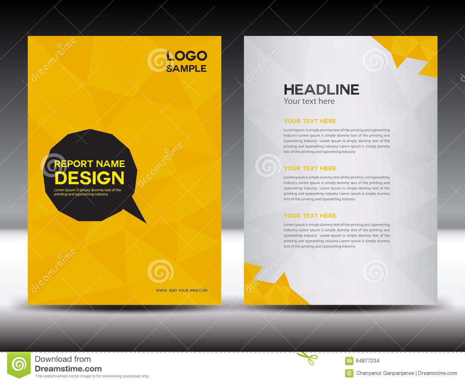 graphic design report