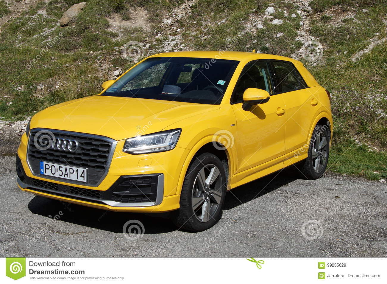Yellow Audi A3 4wd Editorial Stock Photo Image Of Luxury 99235628