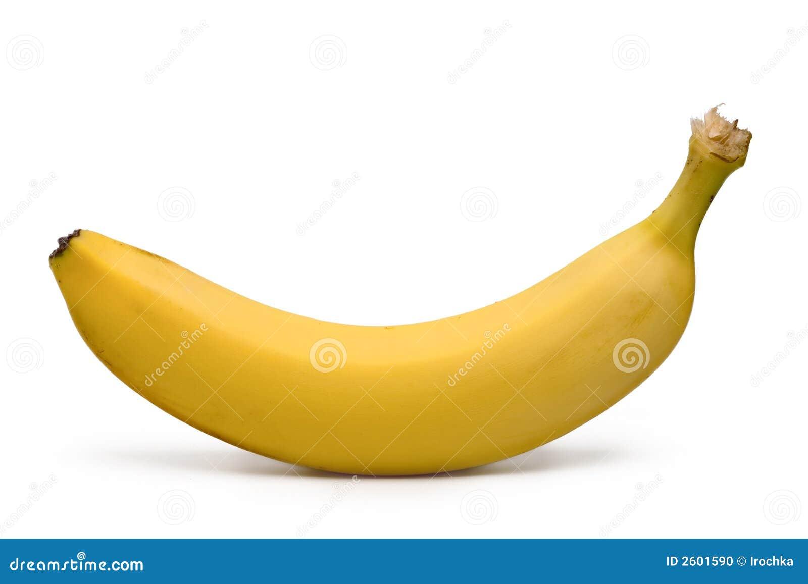 Yellow Banana Stock Photo Image 2601590