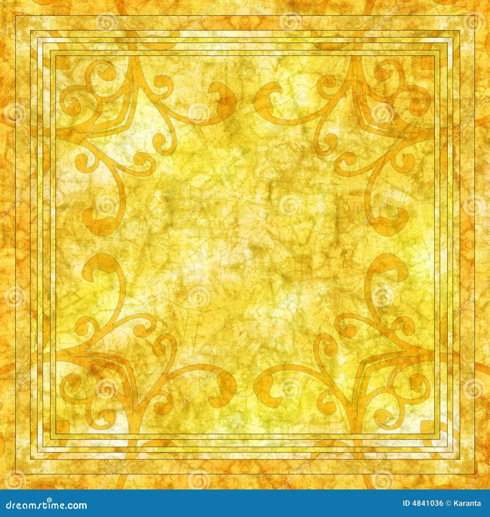yellow batik background stock illustration illustration of backdrop