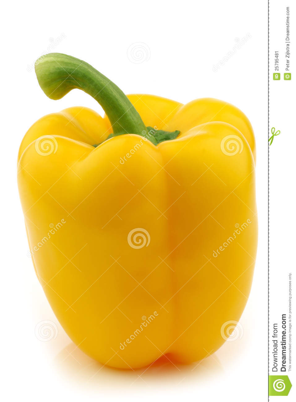how to eat yellow capsicum
