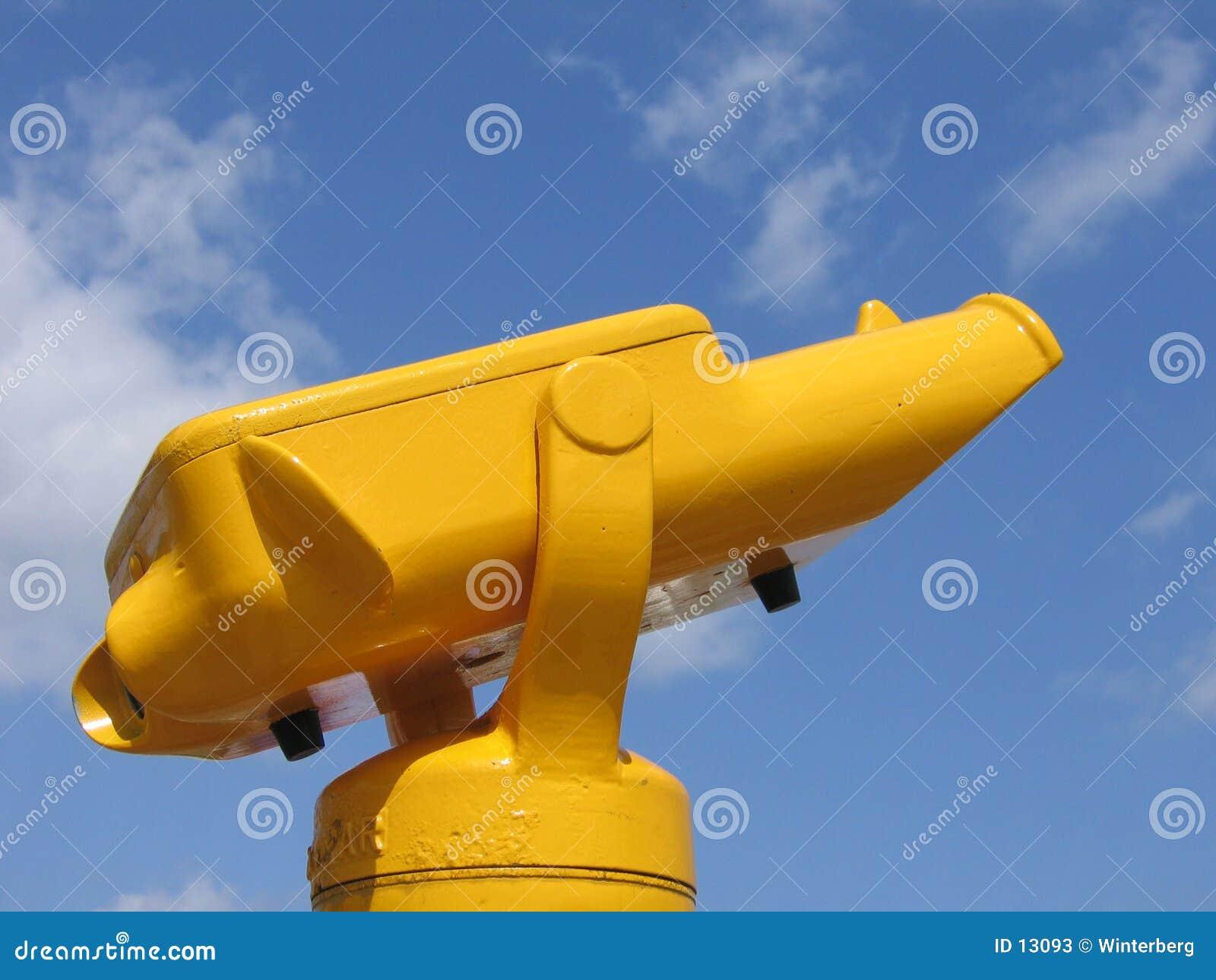 Yellow Binoculars