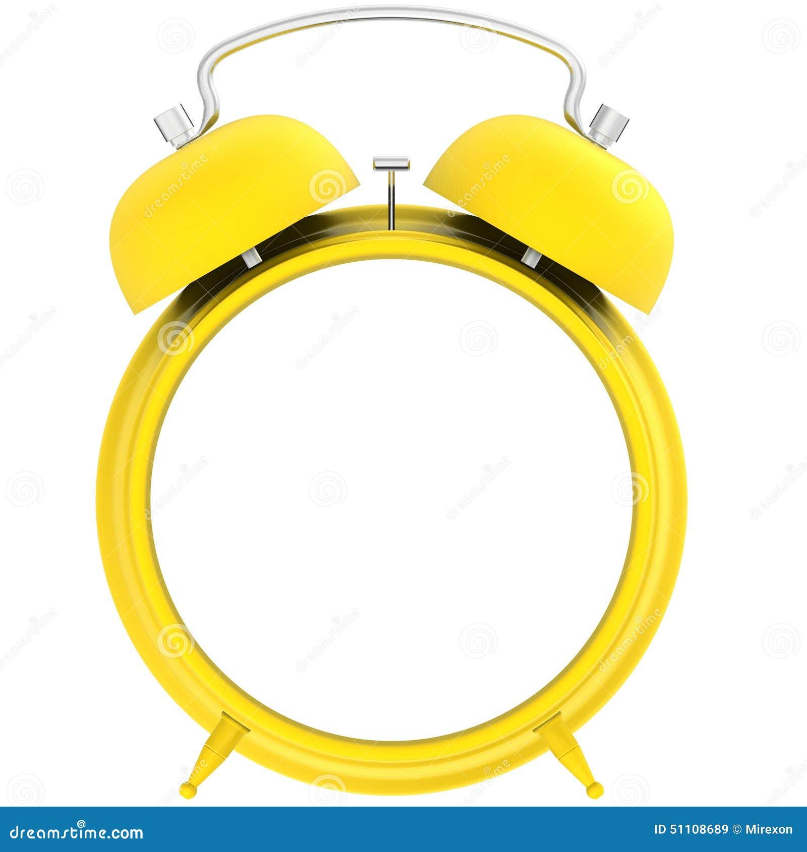Yellow Blank Alarm Clock Stock Illustration - Image: 51108689 Blank Alarm Clock Clipart