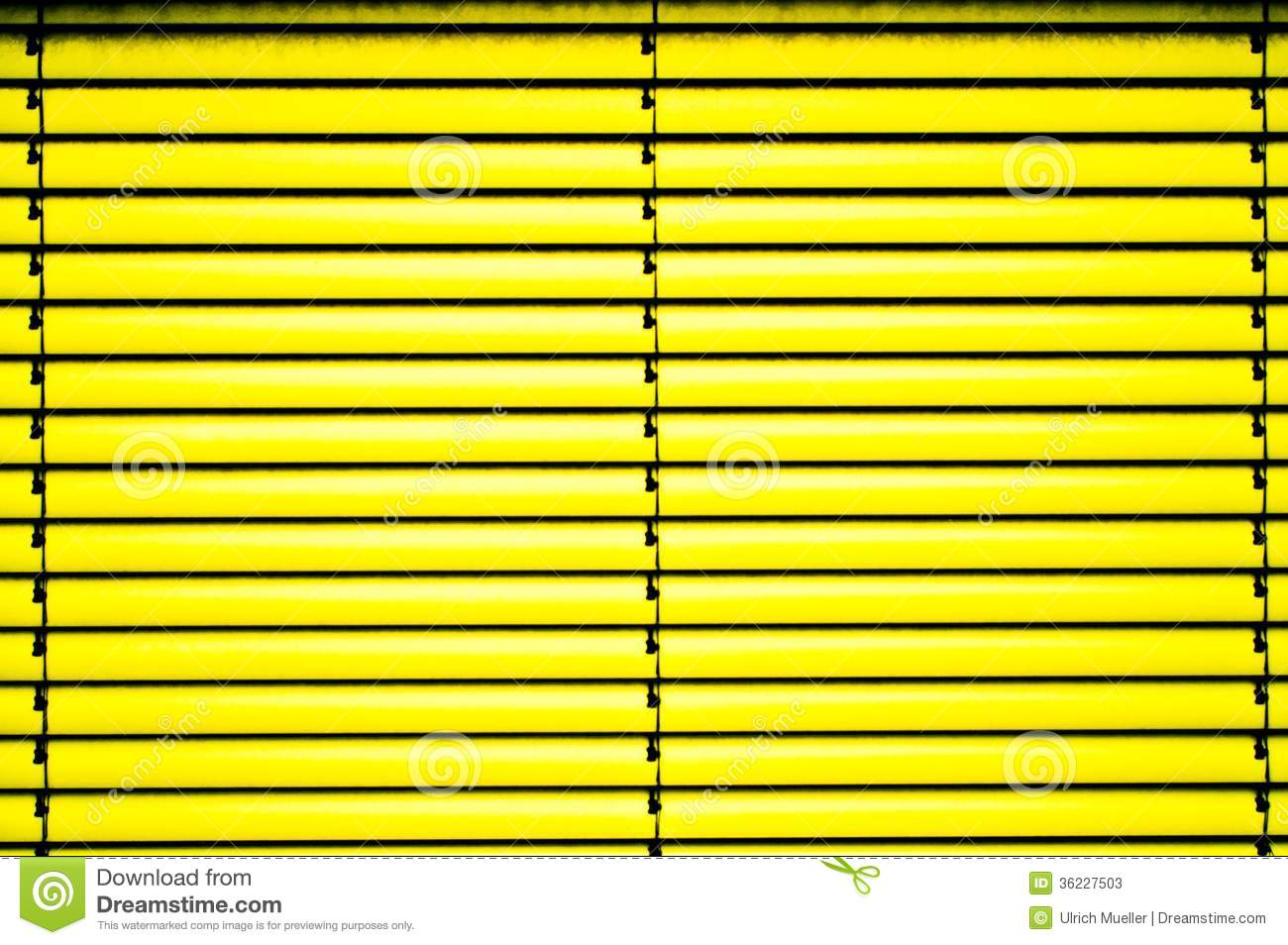 Yellow Blinds Stock Photos Image 36227503