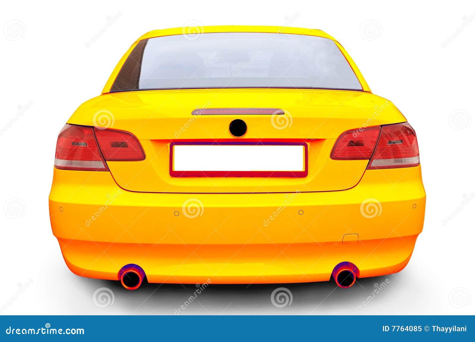 Yellow Bmw 335i Convertible Car Royalty Free Stock Photo Image 7764085