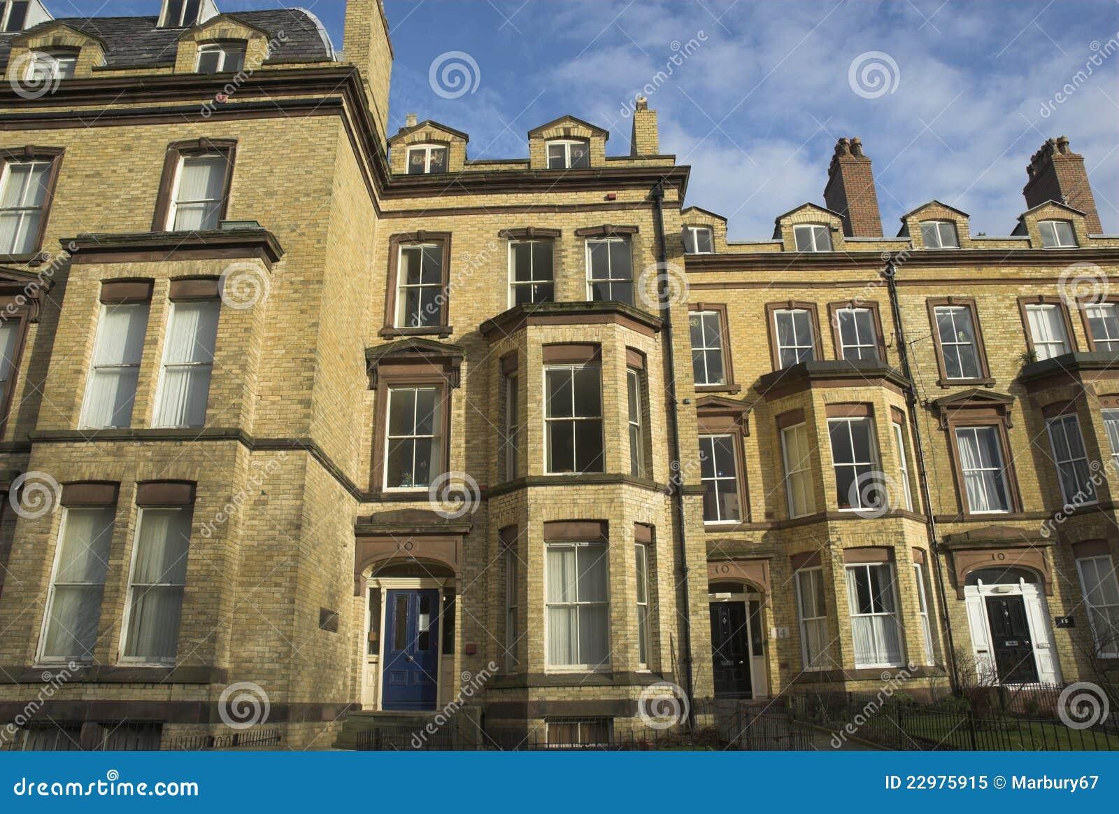 Download Yellow Brick Houses stock image. Image of houses, yellow - 22975915