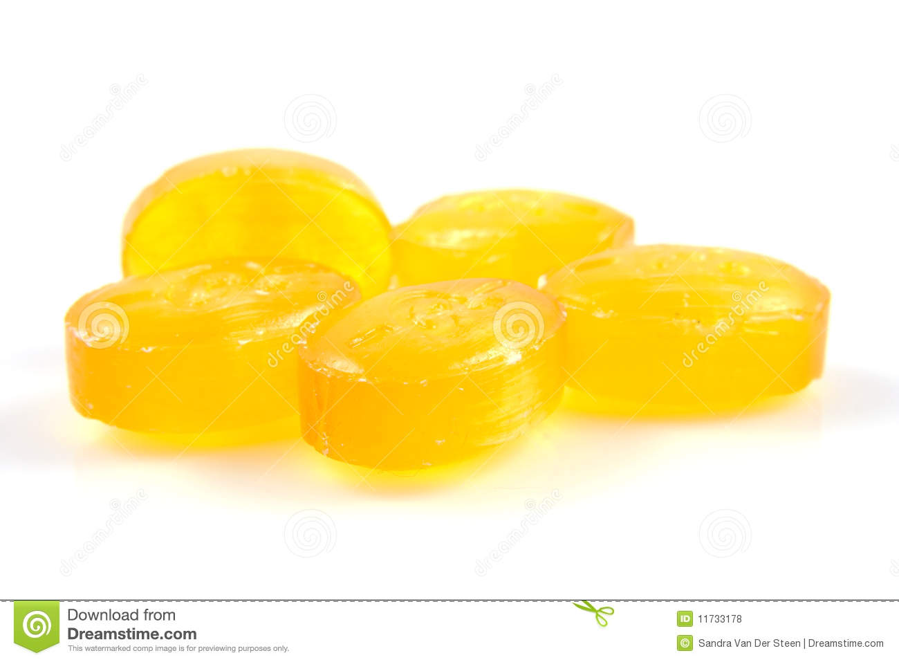 Yellow Candy Royalty Free Stock Photos - Image: 11733178