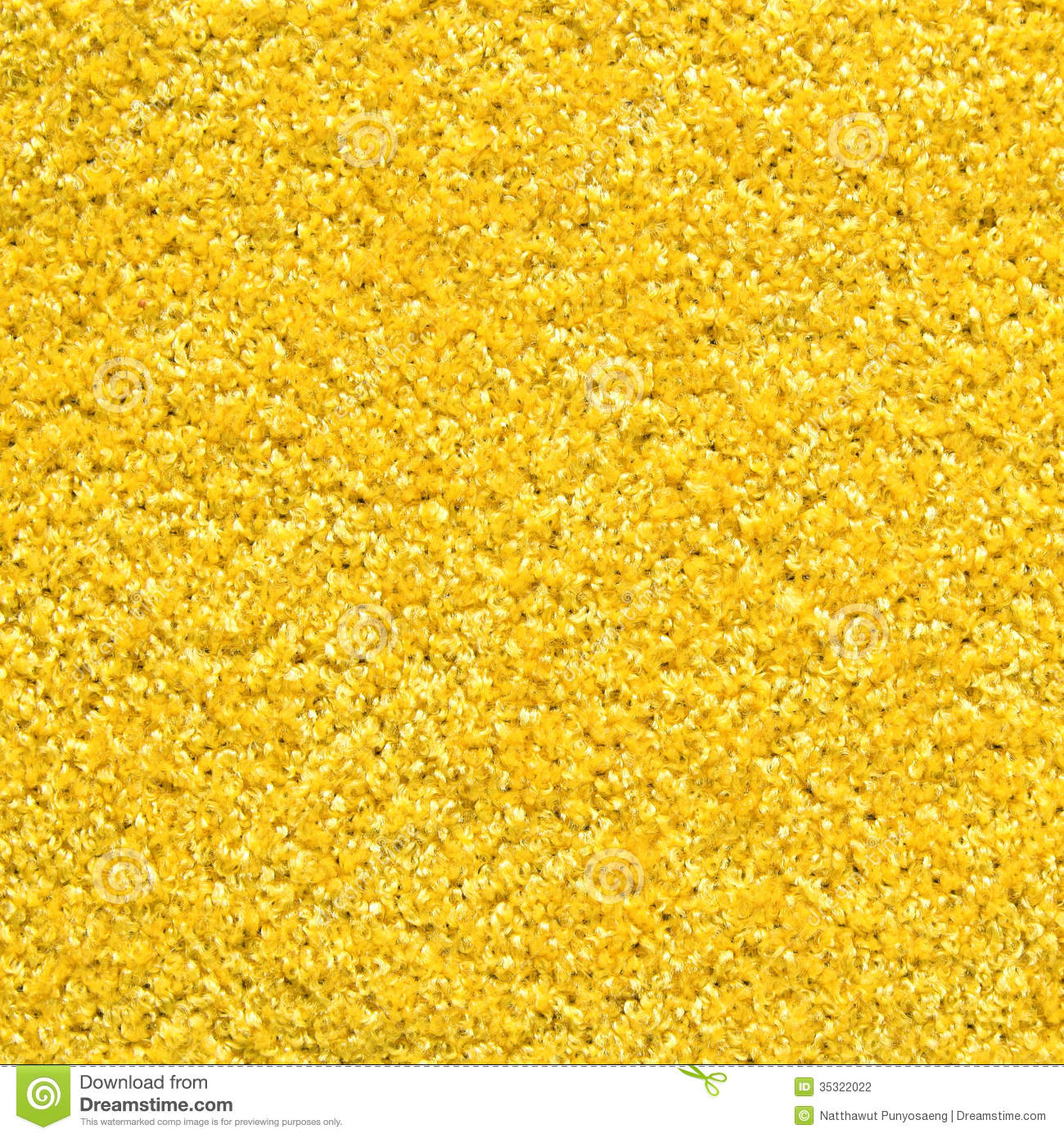 Yellow Carpet Texture Stock Photography Image 35322022