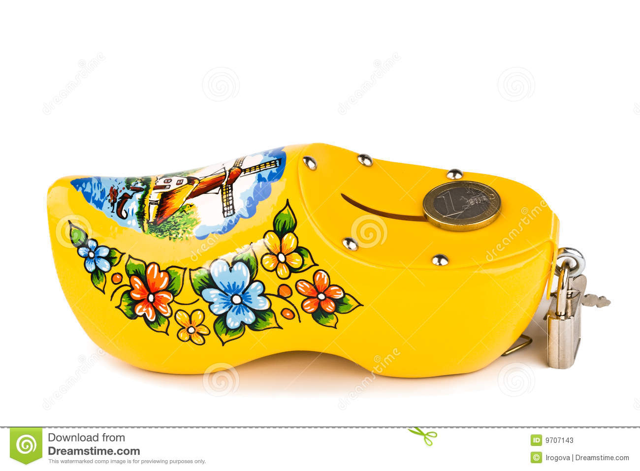 Download Yellow coin box stock image. Image of coin, stock, money - 9707143