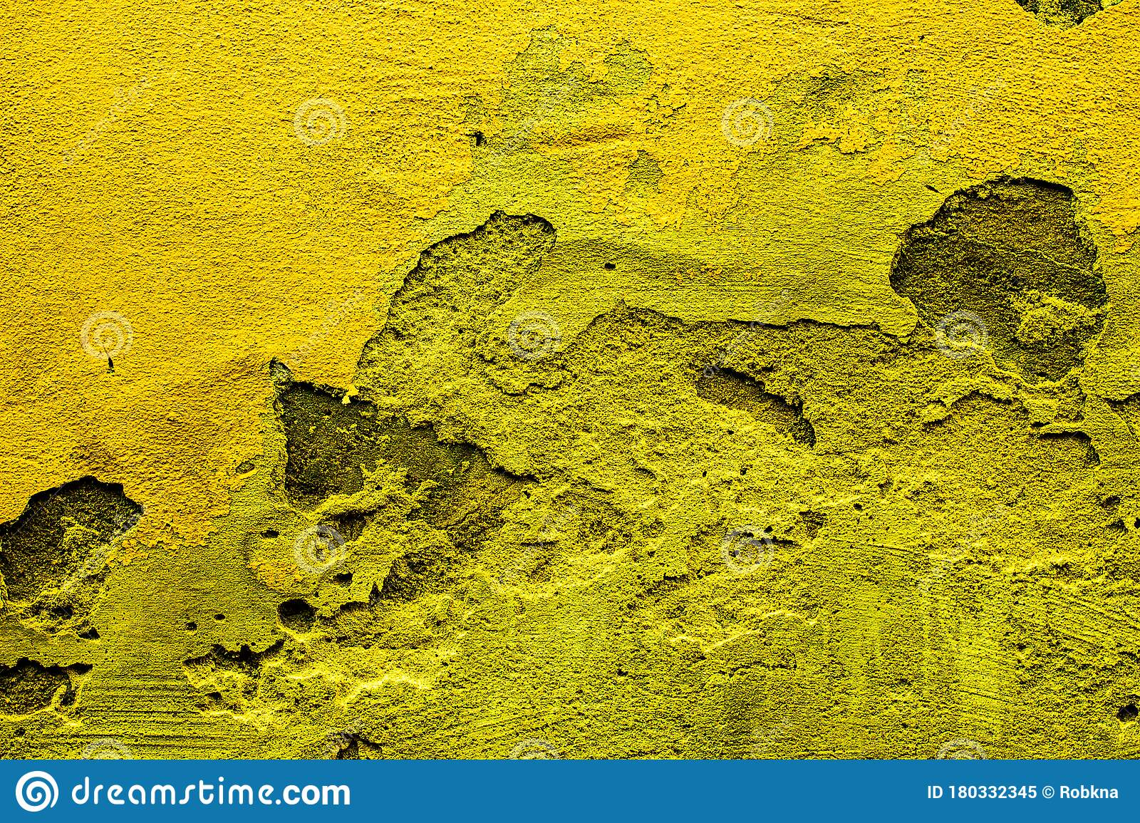 Yellow Colored Abstract Wall Background With Textures Of Different Shades Of Yellow Stock Image Image Of Aureolin Colorful 180332345