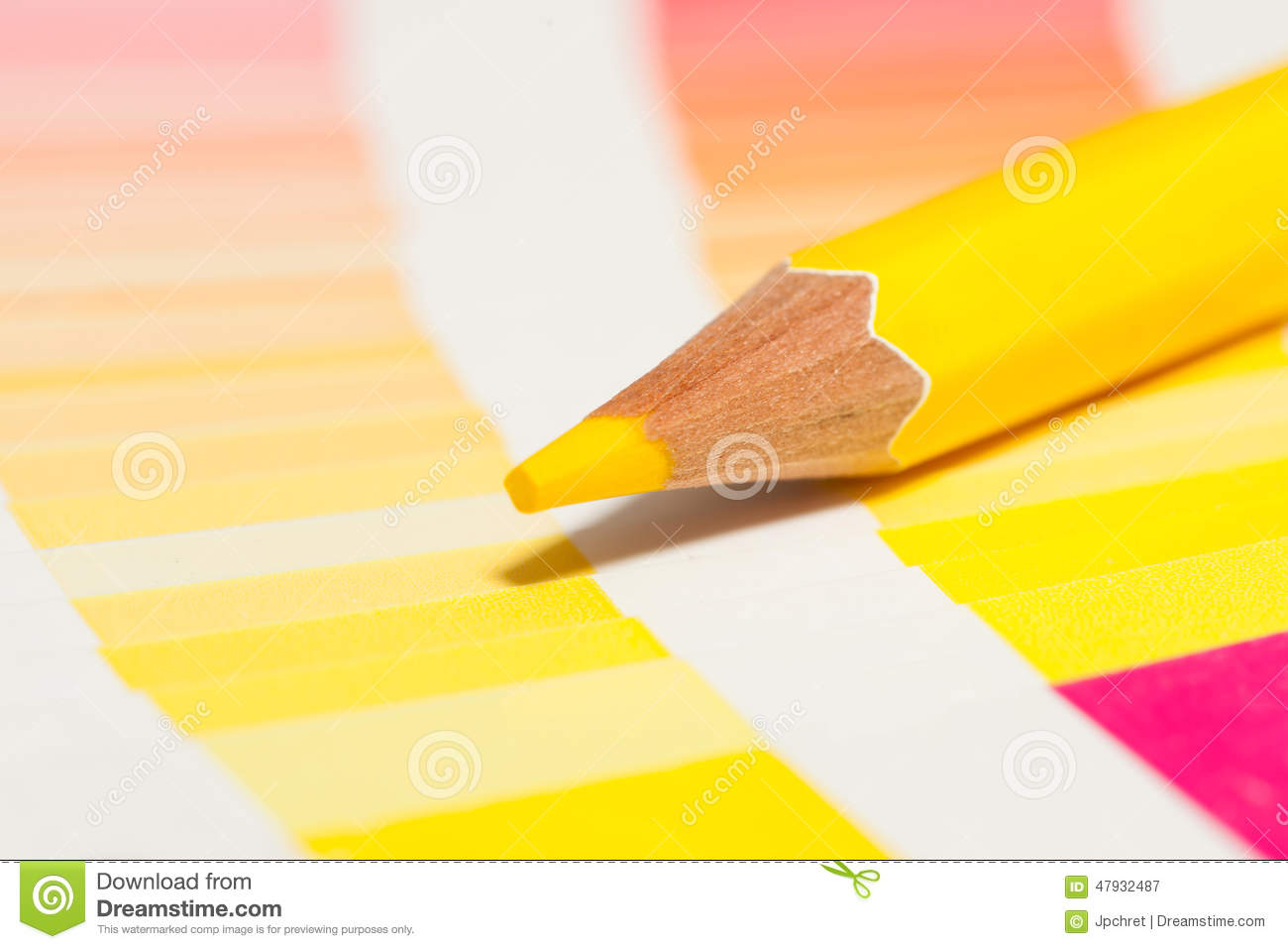 Yellow colored pencils and color chart of all colors stock image yellow colored pencils and color chart of all colors nvjuhfo Gallery