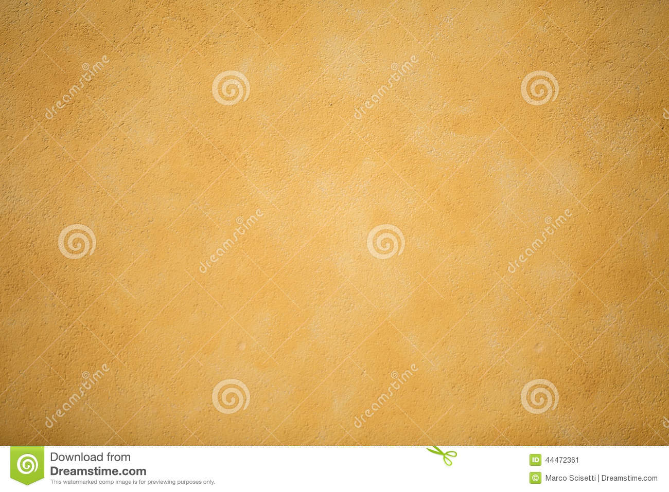 A Yellow Decorative Plaster Wall Stock Image - Image of texture ...