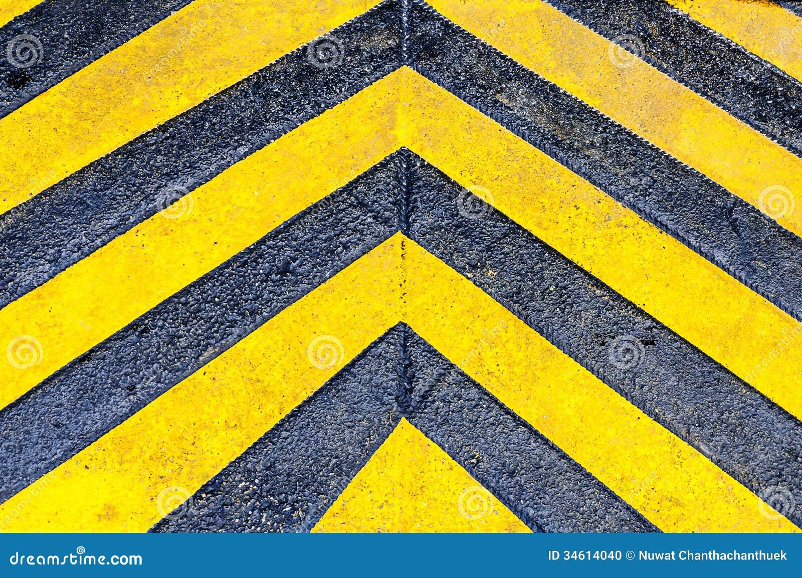 Yellow Directional Arrows Stock Photo - Image: 34614040