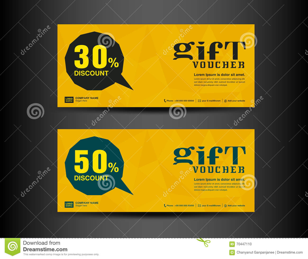 Banner coupons