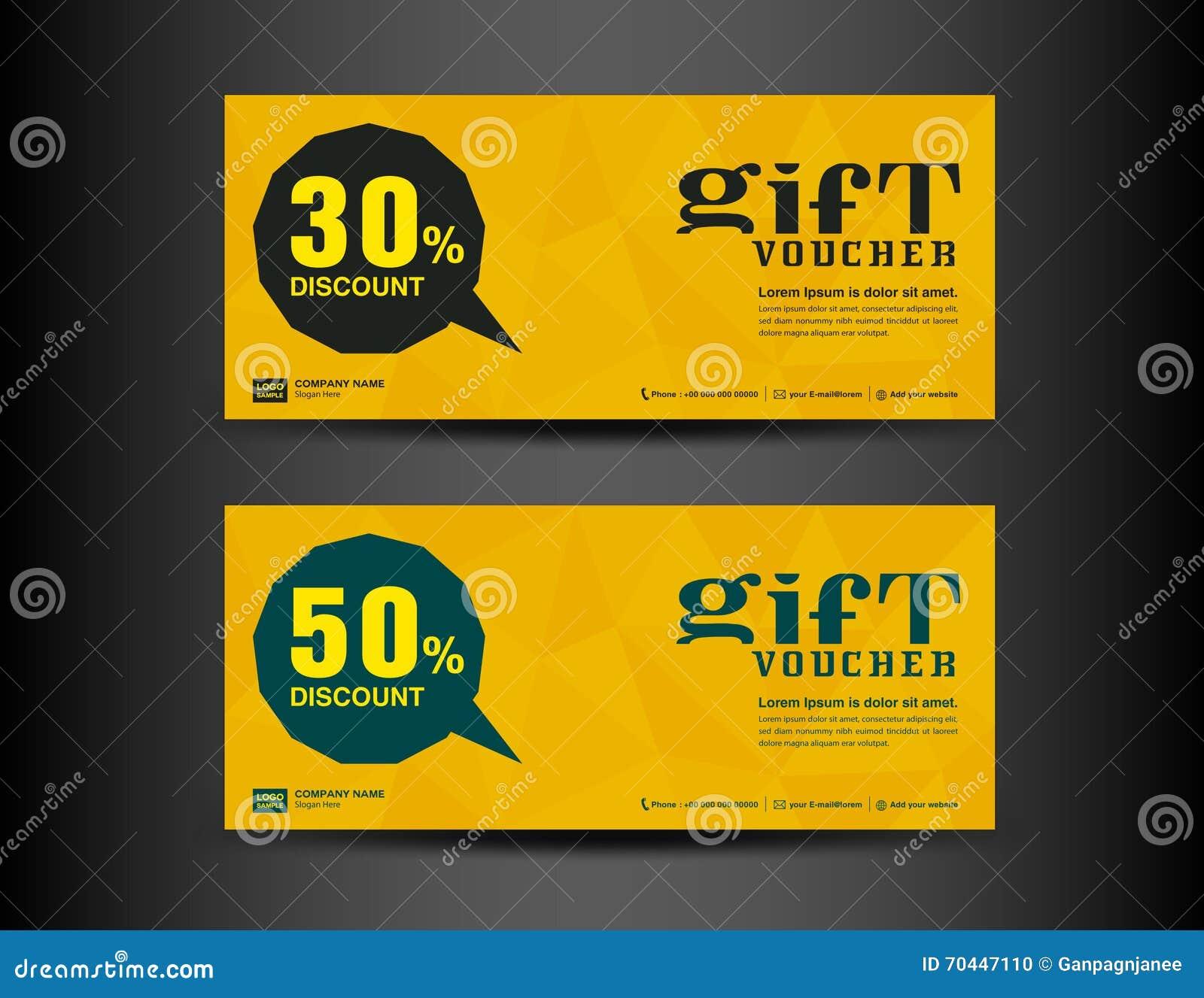 Discount Voucher Template Coupon Designticket Banner Template – Ticket Voucher Template