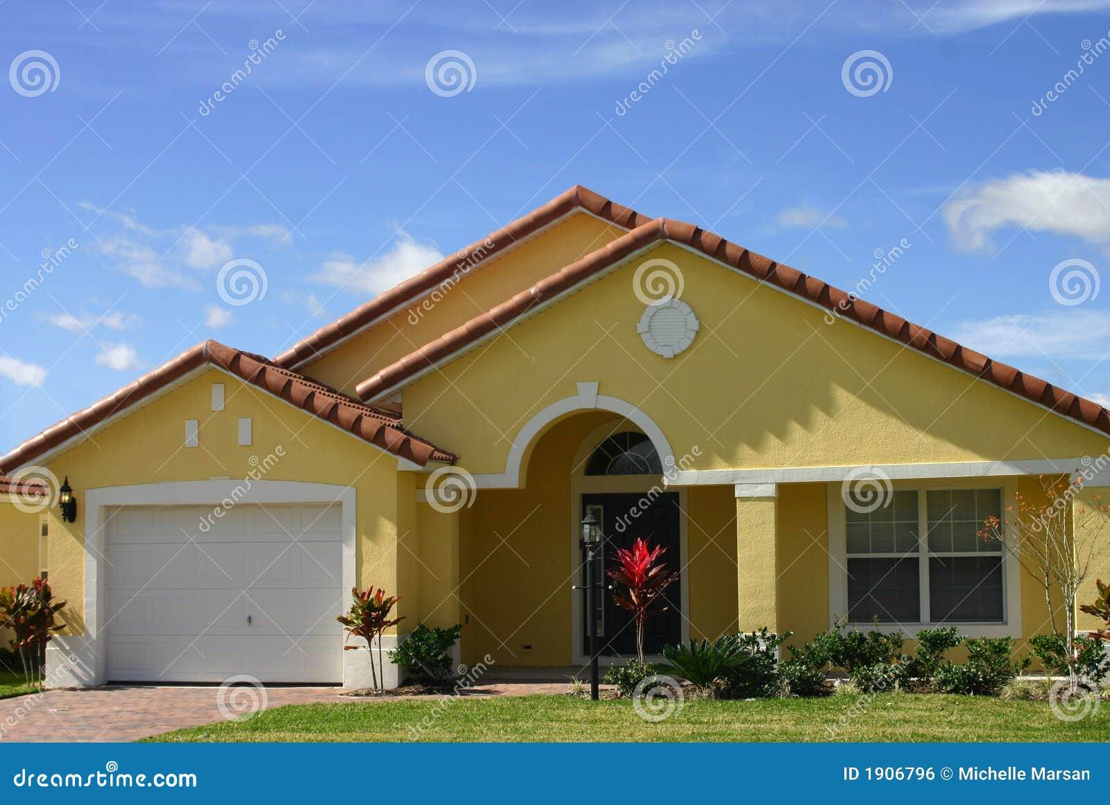 Yellow dream home
