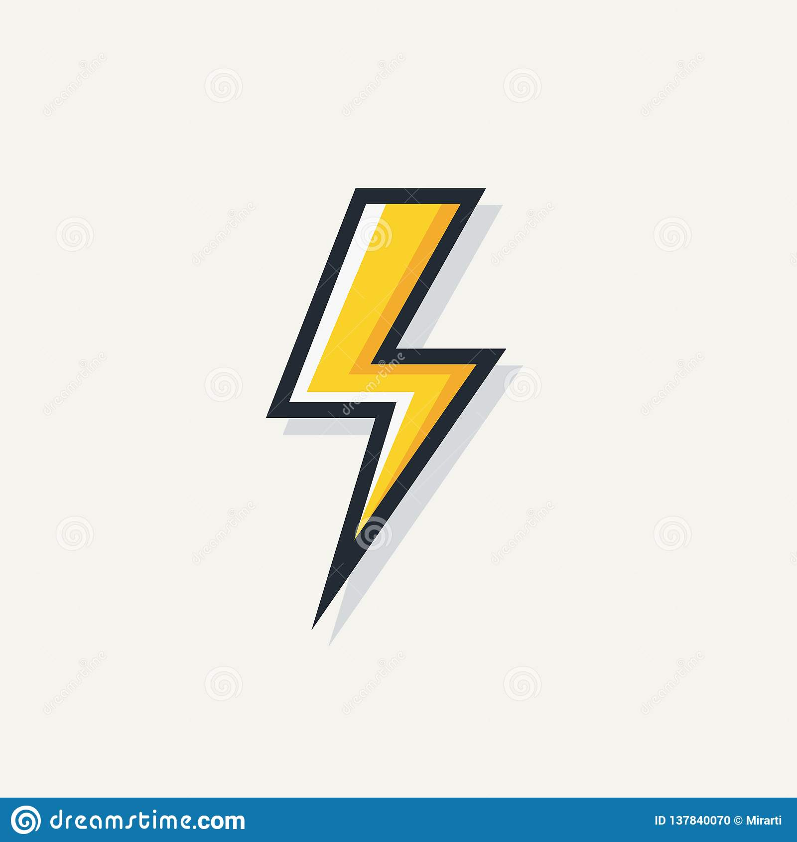 yellow electric lightning bold vector symbol stock vector illustration of arrow flat 137840070 https www dreamstime com yellow electric lightning bold vector symbol yellow electric lightning bold vector symbol isolated white background image137840070