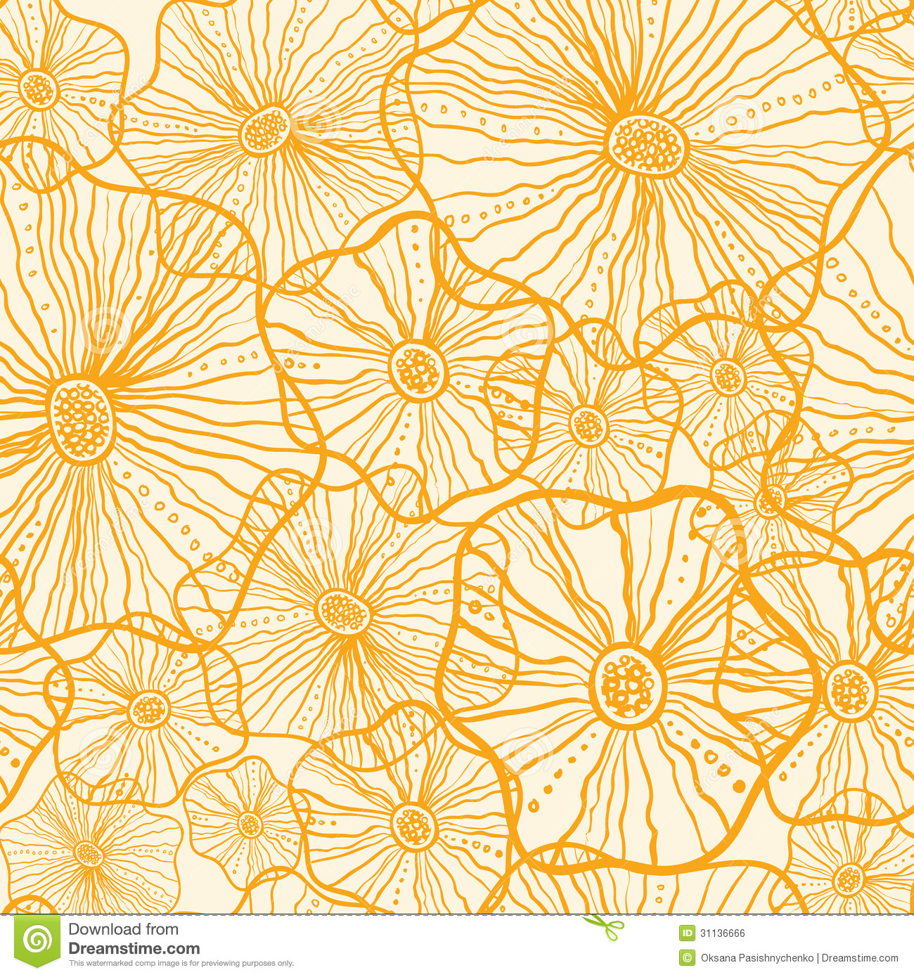 yellow floral pattern - photo #43