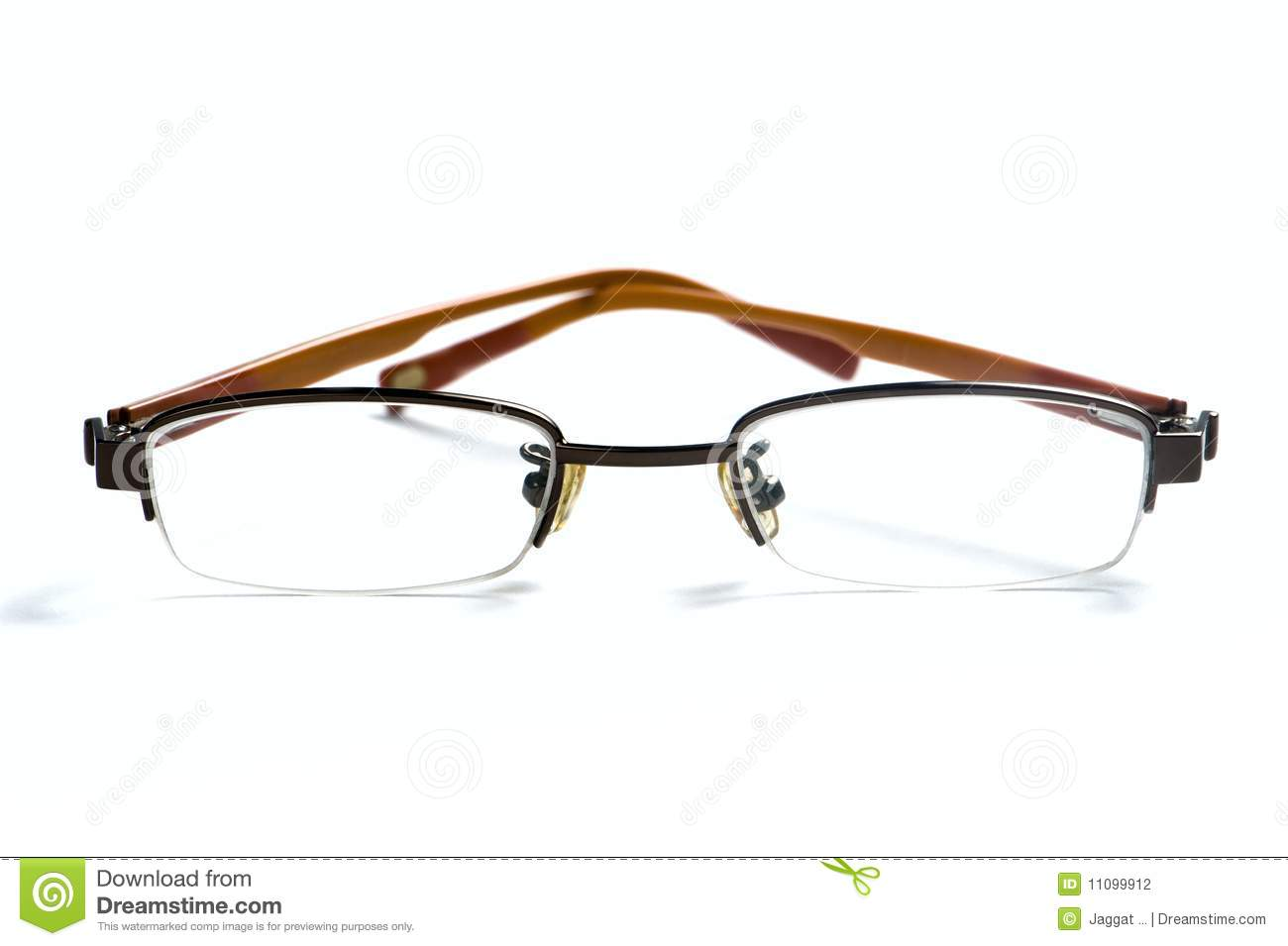 Glasses With Yellow Frame : Yellow Frame Eyeglasses Stock Photography - Image: 11099912