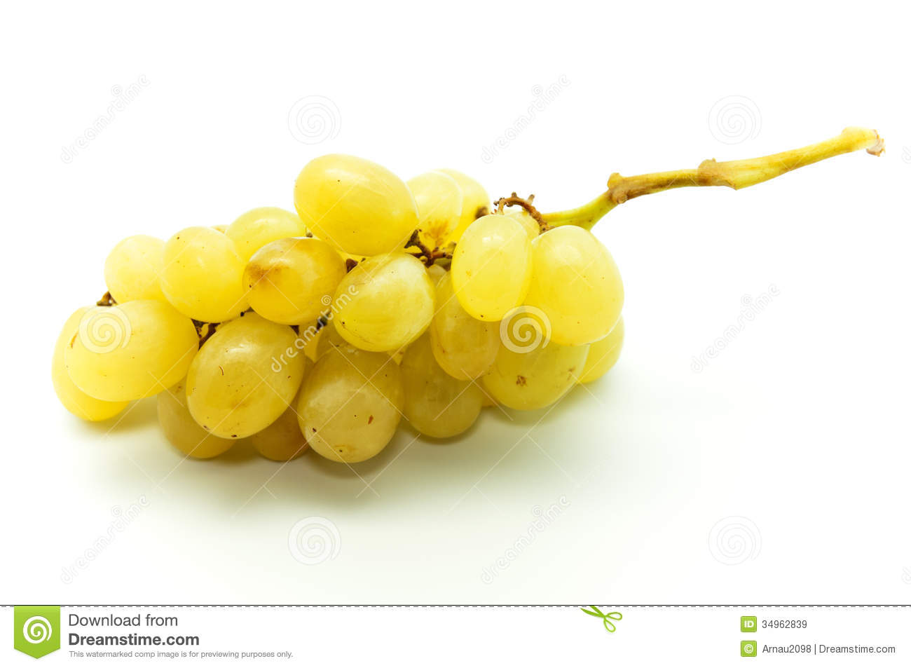 Yellow Grapes Royalty Free Stock Images - Image: 34962839