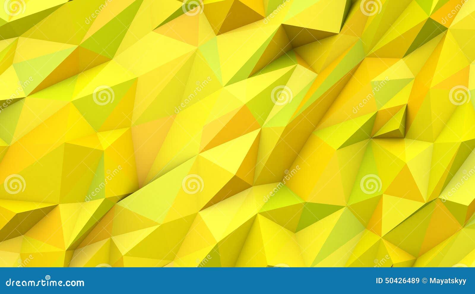 geometric yellow background illustration - photo #39