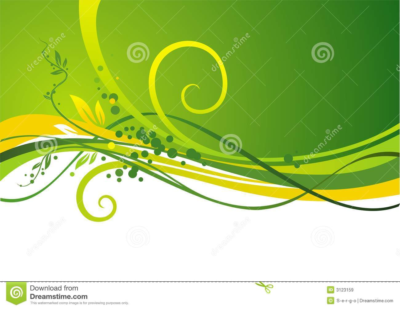 yellow green design royalty free stock images image 3123159