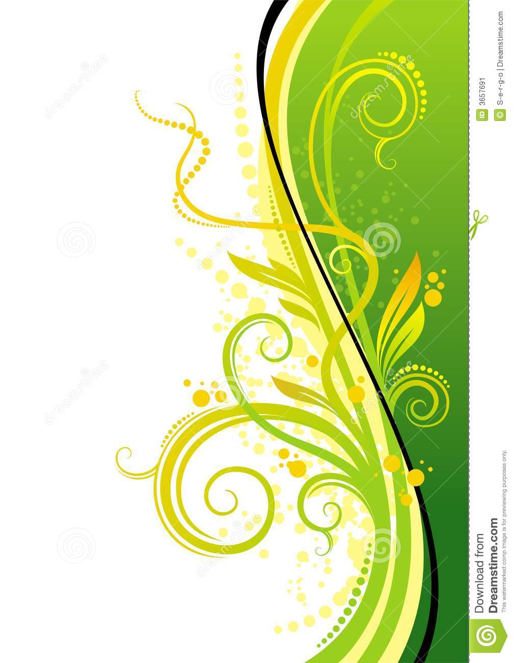 Yellow green design stock image image 3657691 Green plans
