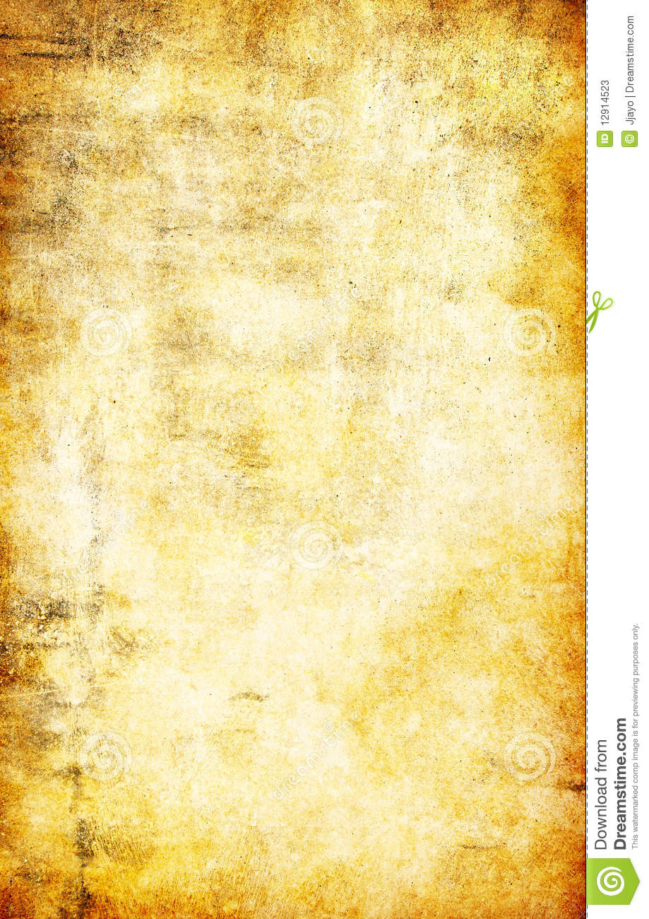Yellow Grunge Textured Abstract Background Stock Photos