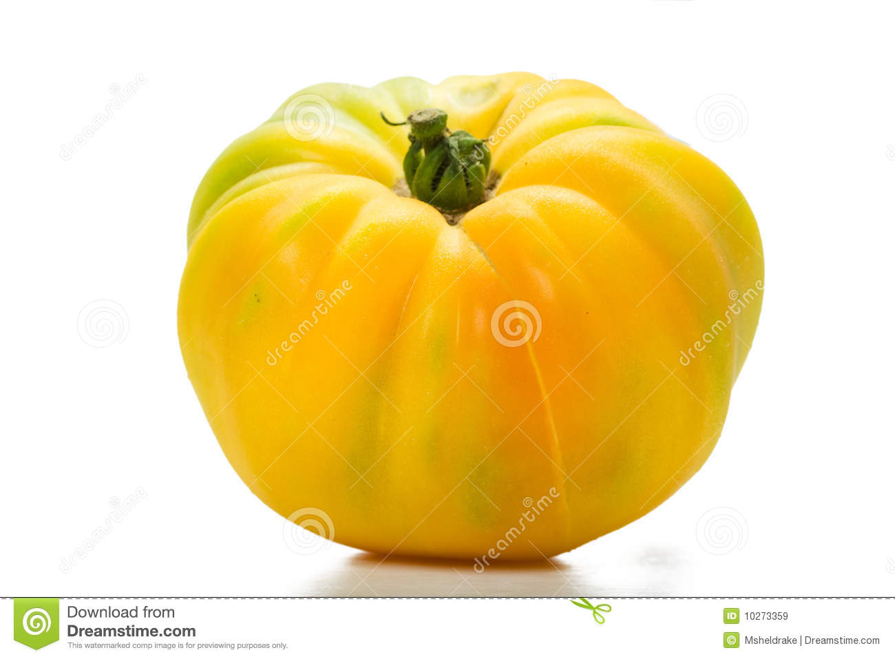 Yellow Heirloom Tomato Royalty Free Stock Images - Image ...