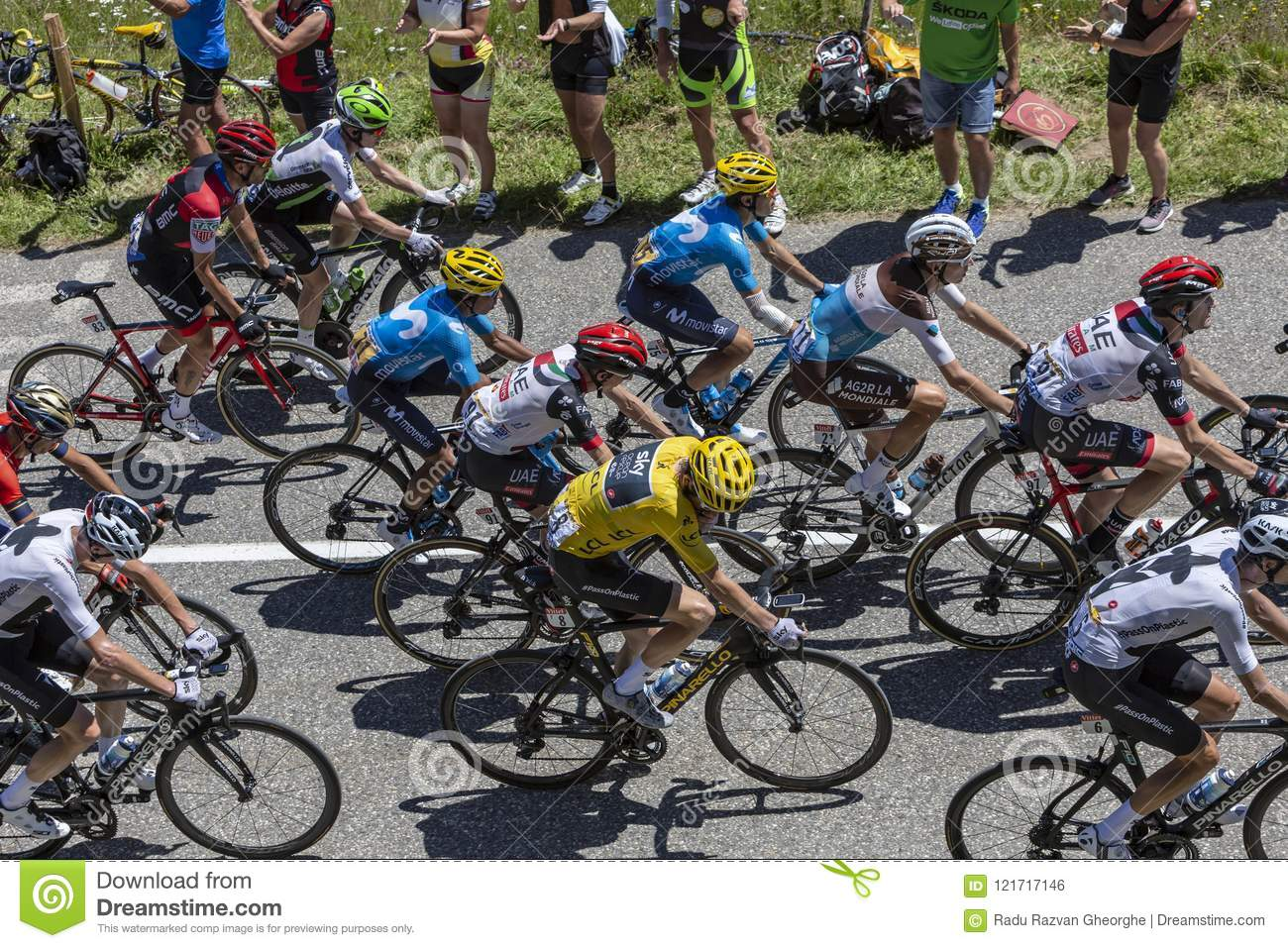 The Yellow Jersey - Tour De France 2018 Editorial Photo - Image of ... d7b0f27f2