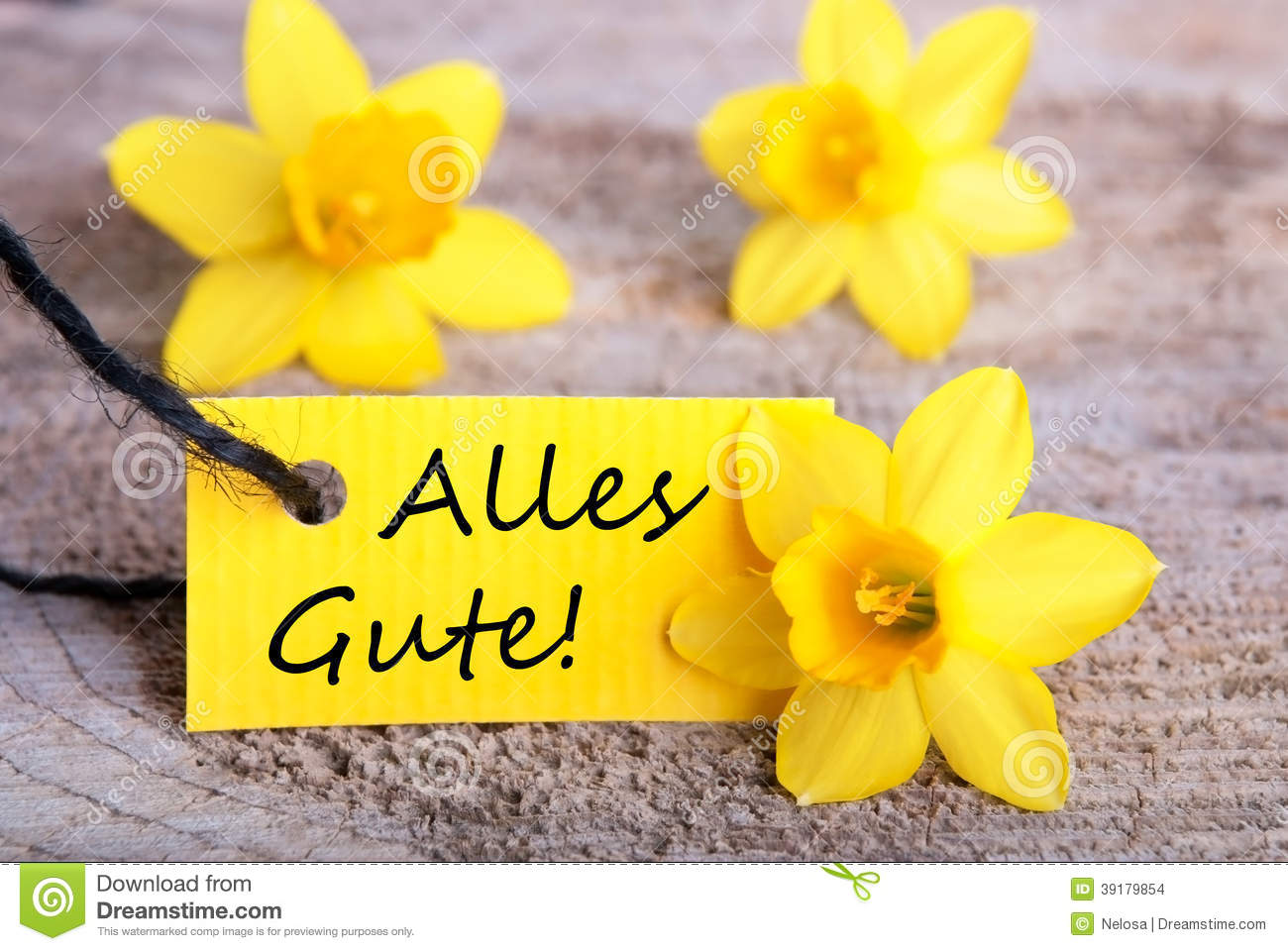 Alles Gute Meaning