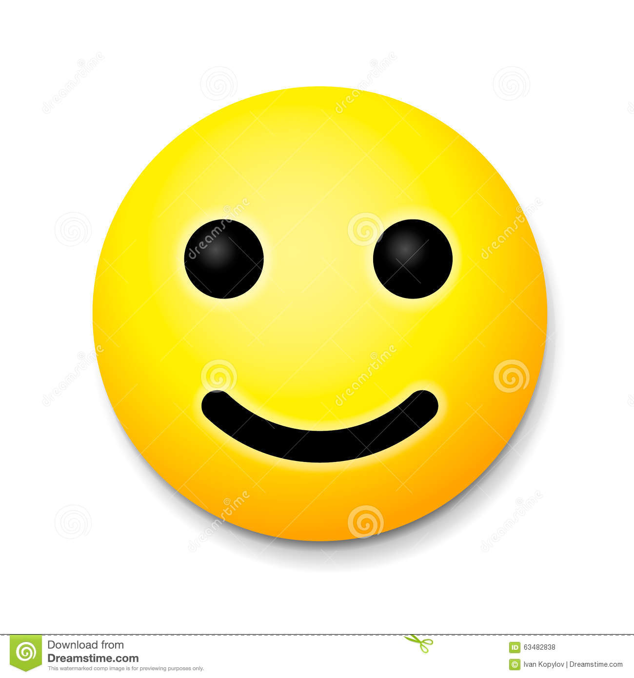 Hoe Emoji Yellow Laughing Happy Smile Emoji Smile Symbol Stock
